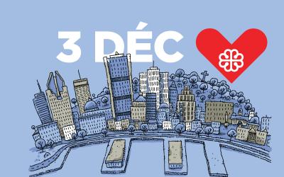 le 3 décembre: La journée où le don est à l'honneur !