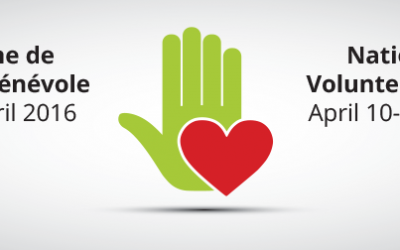National Volunteer Week: love in motion