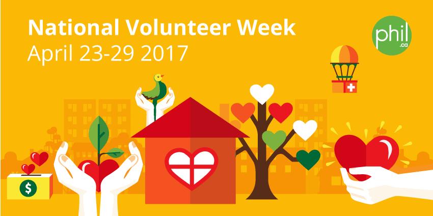 It's National Volunteer Week 2017