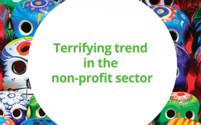 Terrifying trend in the non-profit sector