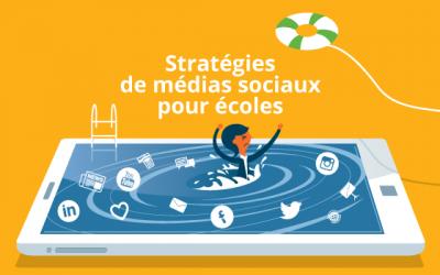 Stratégies de médias sociaux pour écoles